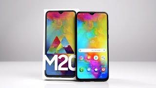 Unboxing: Samsung Galaxy M20 (Deutsch) - 5000mAh Akku & 229€ UVP | SwagTab