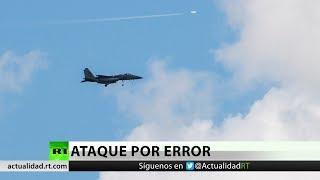 Dos cazas F-15 de la coalición de EE.UU. atacan por error a los kurdos en Siria y dejan 6 muertos