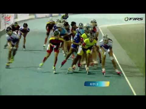 Senior Women 15000 meters Elimination Final - World Roller Speed Skating Championships 2016