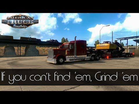 American Truck Simulator - Oversized load through Arizona! | Peterbilt Floatin