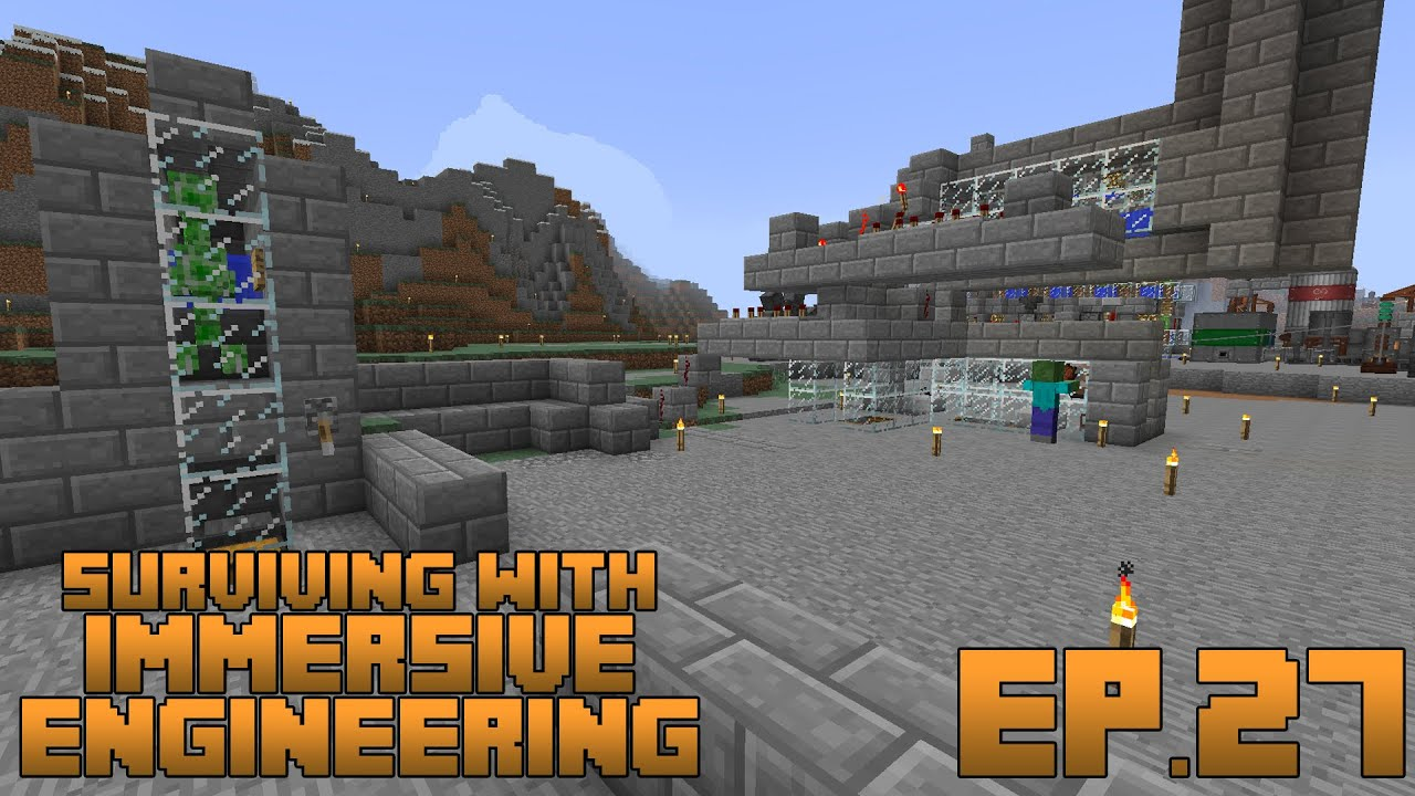 Surviving With Immersive Engineering :: Ep 26 - Basic Wiring, Transformers,  And Capacitors