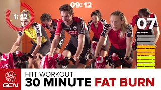 Lose Fat Fast! - Get Fit With GCN's 30 Minute High Intensity Hill Climb Training