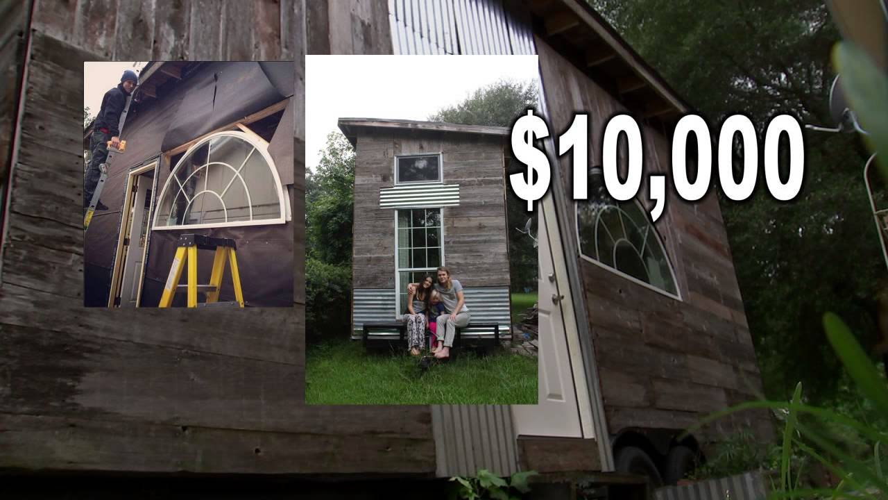 Taking big steps in tiny house movement In Houston YouTube