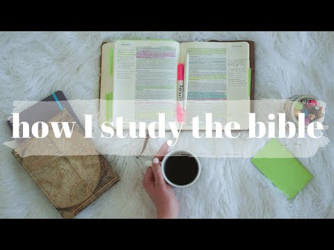 How I STUDY the BIBLE (My Note-Taking Method + QUIET TIME Tips)