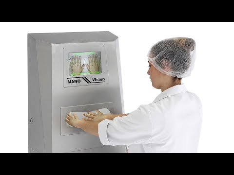 Санпропускник для дезинфекции рук с камерой ITEC MANO Vision 23780