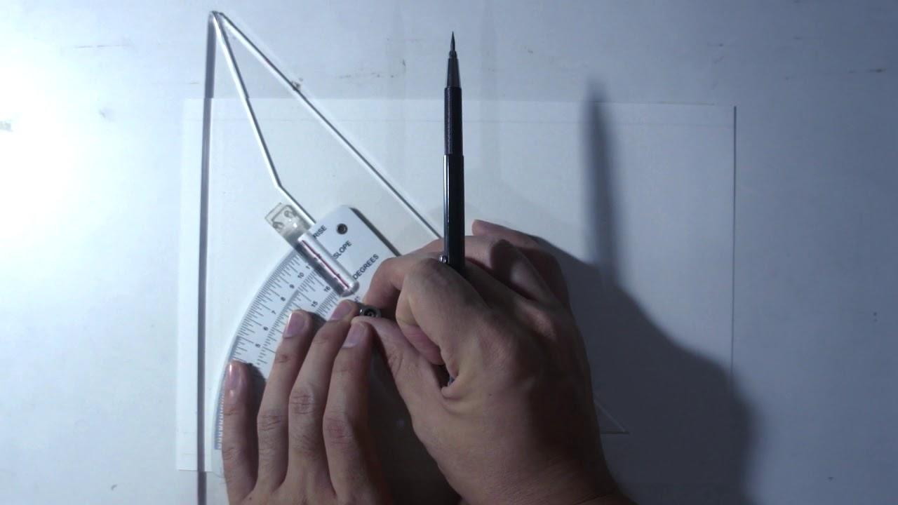 ปรับพื้น: การเขียนเส้นกรอบในงานเขียนแบบ