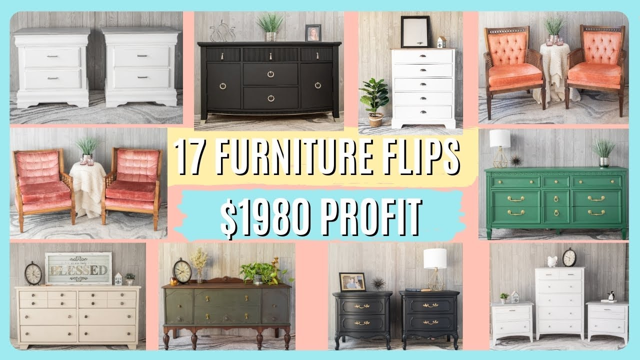 Flipping Furniture Helped Me Pay Off My Student Loan Debt in 4 MONTHS!