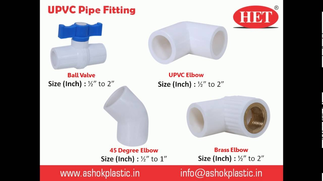 Pvc Joints Upvc Pipe Fitting Manufacturers Pvc Pipe Fittings Suppliers In Ahmedabad India Ashok Plastic