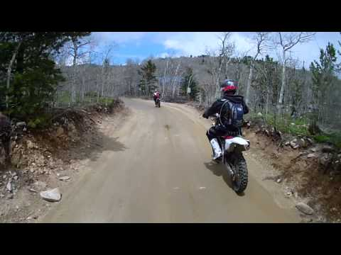 OHV Dirt Bike Trail Riding in Central City, Colorado