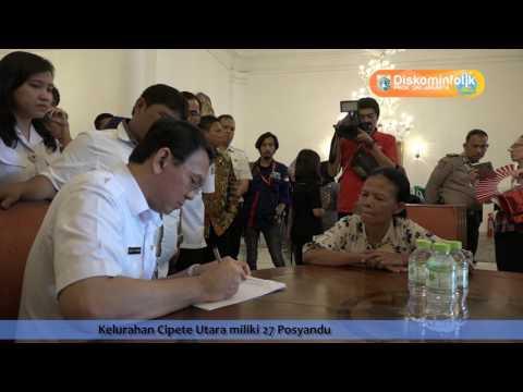 03 Mei 2017 Gub Basuki T. Purnama Menerima Warga & Wawancara Informal Dengan Wartawan