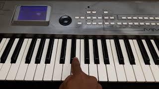 En jeevan keyboard tutorial [ part 1] ......| theri |
