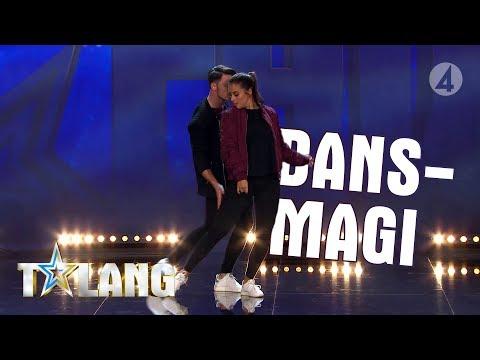 Nino och Julia visar sin kärlekshistoria i dans