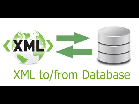 Import / export database data from / to XML using ASP.NET and C#