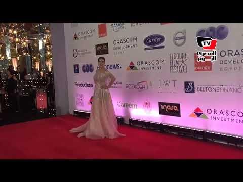 هادي الباجوري وياسمين ري?يس ودرة في مهرجان الجونه السينماي?ي  - 21:54-2018 / 9 / 20