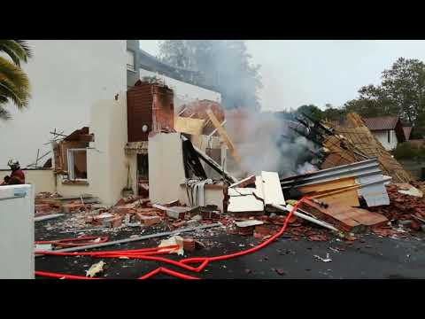 Une maison explose à Anglet