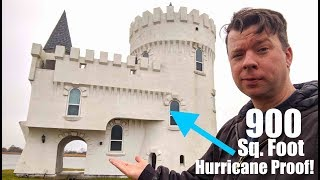 """Would You? $150k Hurricane-proof """"tiny House"""" Castle"""