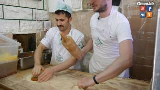 Lahmacun Tarifi - Готовим Лахмаджун - Турецкая пицца - Рецепт - Istanbul street food