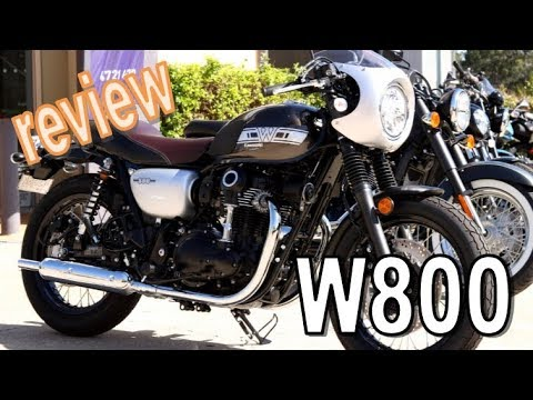 All New 2019 W800 Cafe From Kawasaki Review Cafe Racer Youtube