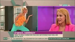 AYSEGÜL DEMiRSOY TRT SPOR - HD
