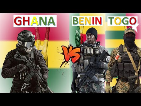 Ghana vs Benin & Togo Military Power Comparison 2021