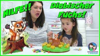 HILFE! Diebischer Fuchs 🦊 Suche nach dem blauen Huhn 🦊 Pickin Chickens Aktionsspiel