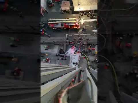 Así vivieron incendio en Metro