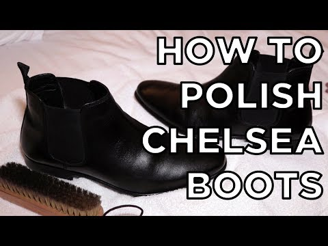 How to Polish Chelsea Boots