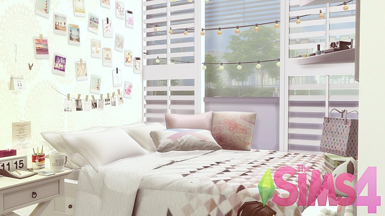 The Sims 4 | Tumblr Room (Quarto Tumblr) - YouTube