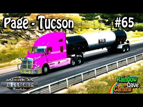 American Truck Simulator | #65 | Page-Tucson
