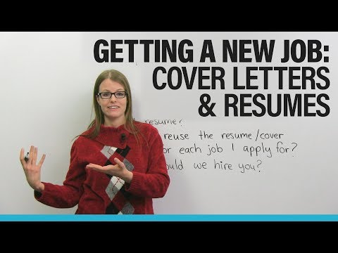 Find a NEW JOB in North America: Cover Letter ' Resume Advice