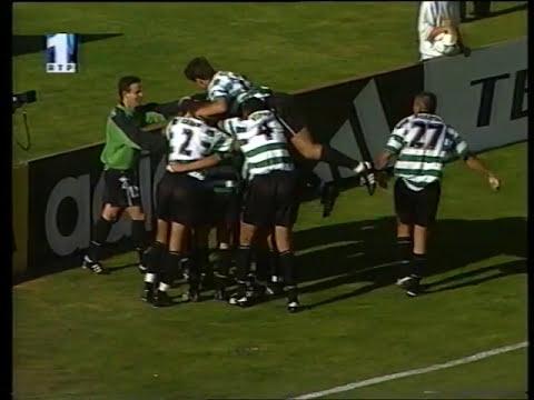 34J :: Benfica - 3 x Sporting - 3 de 1998/1999