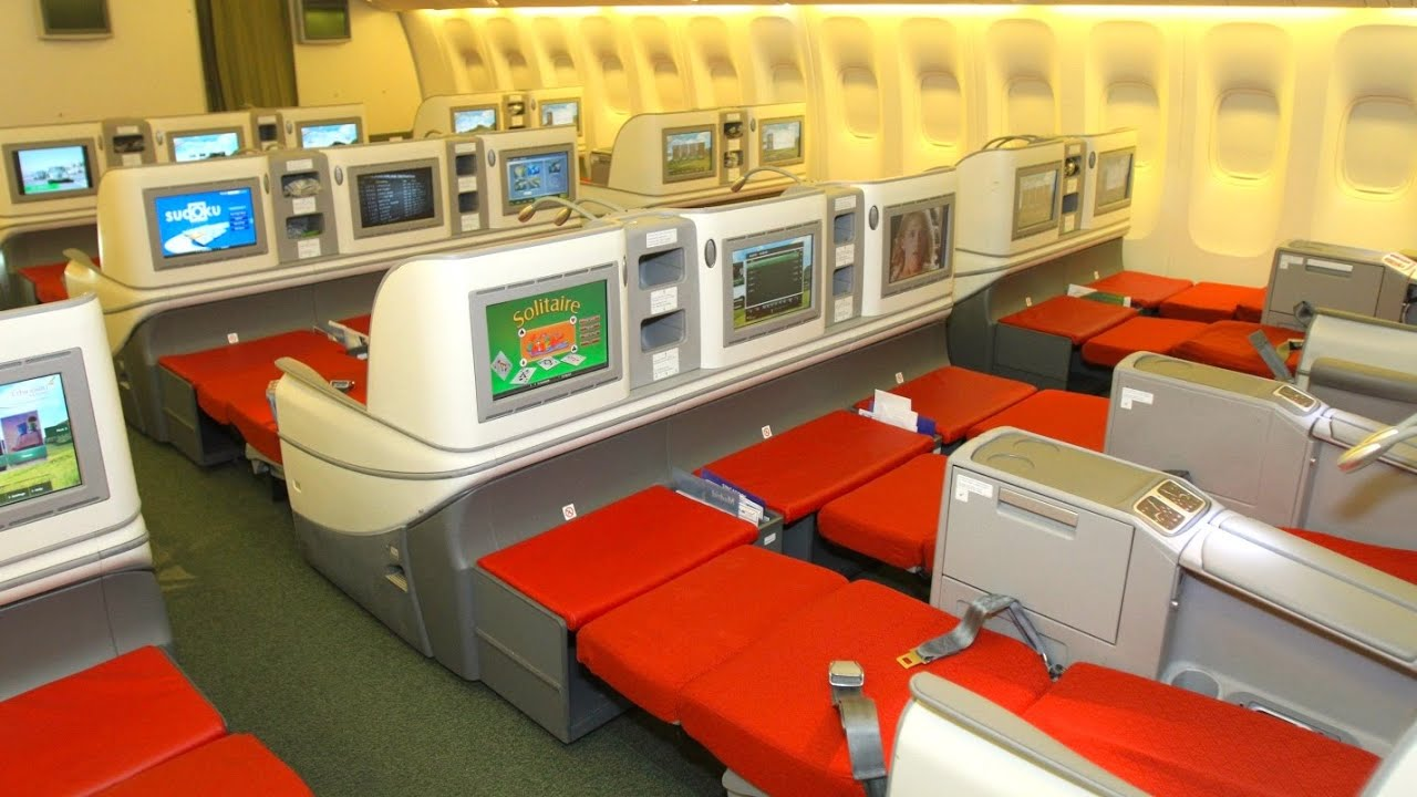 Review Ethiopian Airlines Boeing 777 Business Class