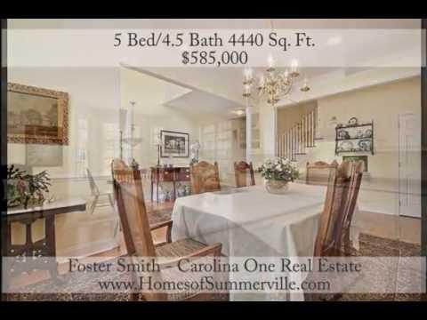 Cedar Grove Executive Home for Sale in North Charleston, SC