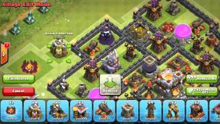 New Town Hall 11 (TH 11) War Trophy Base Grand Warden Eagle Artillery CLASH OF CLANS