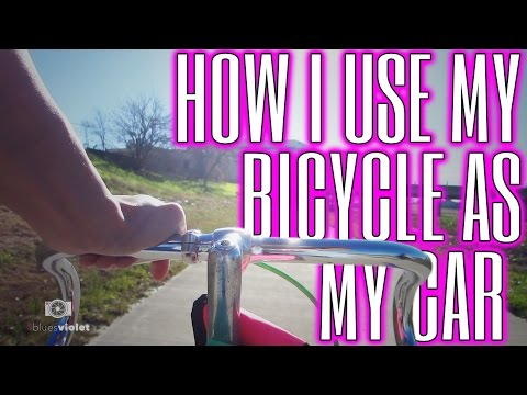 HOW I USE MY BICYCLE AS MY CAR // LIFE WITHOUT A CAR