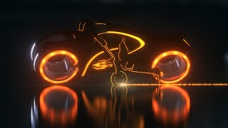 TRON : RECREATED Fan Made Animation 3DS Max