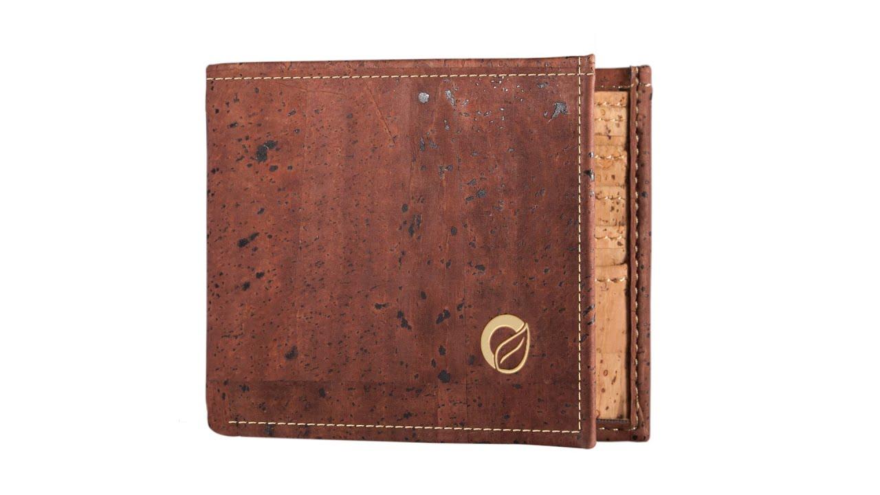 Cork Wallet for Men - YouTube 91822b310c