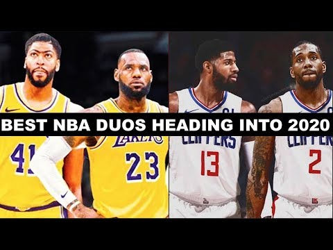Best Players In Nba 2020 Ranking The 10 Best Duos Heading into the 2020 NBA Season   YouTube
