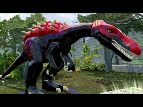 LEGO Jurassic World - Baryonyx Unlock Location + Gameplay (Skeleton ...