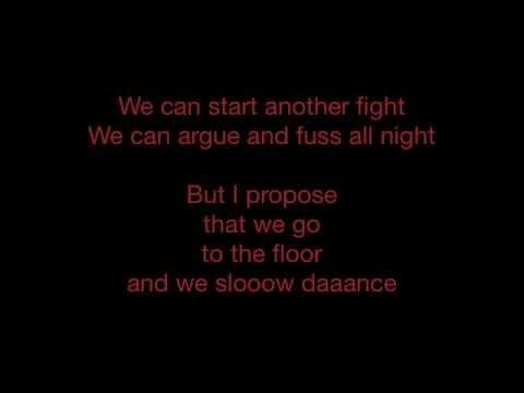 John Legend - Slow Dance - Lyrics - SANFRANCHINO