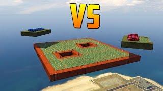 AZULES vs ROJOS - GTA V ONLINE PS4 - DEMOLITION DERBY EXTREME GTA V