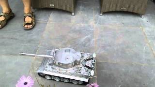 Video rc Tank Tiger 1  1/16 Full Metal Versie download MP3, 3GP, MP4, WEBM, AVI, FLV November 2017