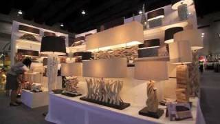 Asian Design House Bangkok Fair Driftwood Lamps