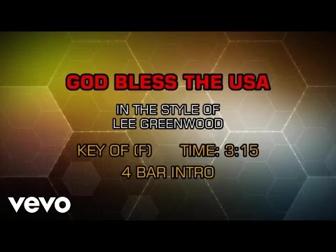 Lee Greenwood - God Bless The USA (Karaoke)