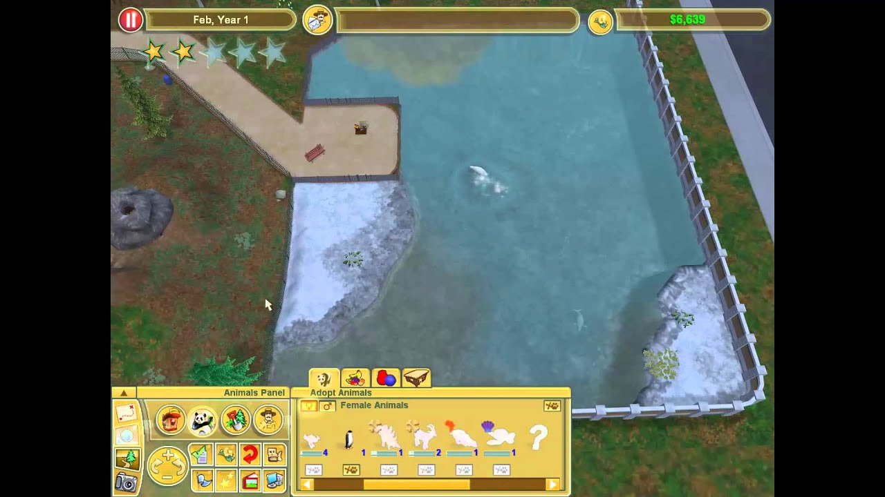 cheats for zoo tycoon 2 marine mania pc game