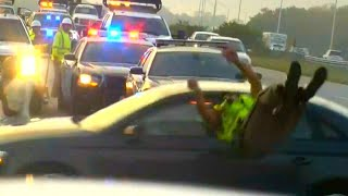 Florida Trooper Jokes He Didn't Land 'a 10' After He Went Airborne