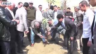 بالفيديو : محافظ سوهاج يفتتح مشروعات تجميل مدينة جهينة ويتفقد مشروعات خدمية وسكنية بالمدينة
