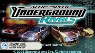Need for Speed Underground Rivals PSP Gameplay HD