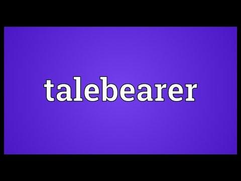 Header of talebearer