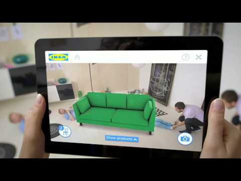 Today's Most Innovative Company: Ikea Uses Augmented Reality To Show How Furniture Fits In a Room